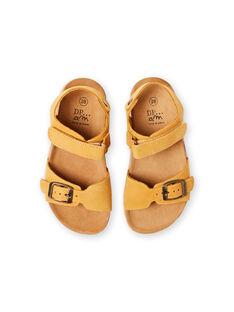 Sandálias amarelas menino LGNUJAUNE / 21KK3659D0E010