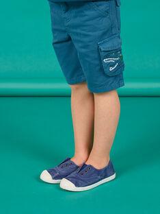 Bermudas azul criança menino LOVERBER4 / 21S902Q5BER715