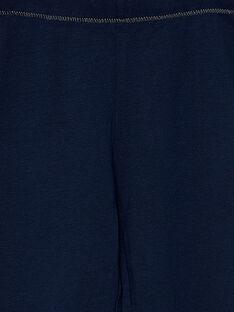 Leggings menina azul-marinho JYAESLEG2 / 20SI0163D26070