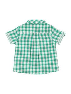 Camisa aos quadrados bebé menino FUCACHEM / 19SG10D1CHM099