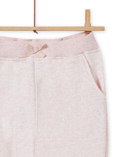 Calças de fato de treino rosa mesclado menina MAJOBAJOG2 / 21W90111JGBD314