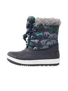 Botas de ski estampado urso criança menino GGMONTNEA / 19WK36W2D3N070
