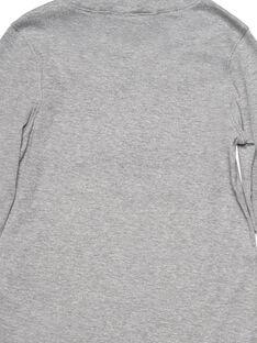 Camisola interior Cinzento Mesclado com sequins reversíveis GOJAUSOUP / 19W902H1SPL943