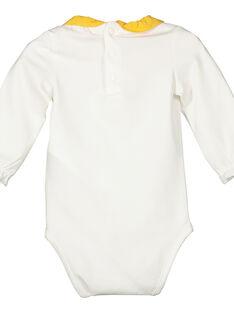 Body de mangas compridas bebé menina FILIBOD / 19SG0921BOD001