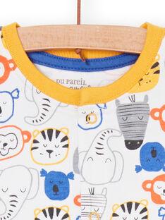 Macacão curto animais selvagens bebé menino LEGAGRETET / 21SH14C1GRE000