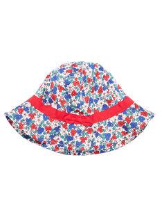 Chapéu criança menina com padrão flores JYAJAHAT2 / 20SI01B2CHA001