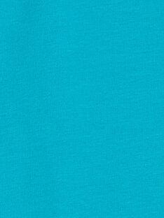 Camisola interior turquesa KUJOSOUP5 / 20WG1041SPL202