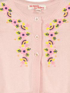 Casaco de algodão bebé menina FIPOCAR2 / 19SG09C2CAR307