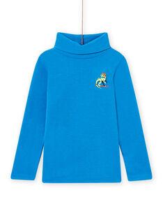 Camisola interior azul com padrão dragão menino MOSKISOUP / 21W902R1SPLC221