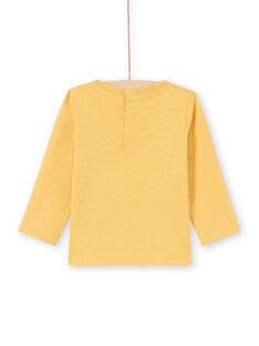 T-shirt amarela bebé menino MUMIXTEE2 / 21WG10J3TML117