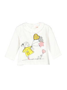 T-shirt mangas compridas bebé menina FILITEE / 19SG0921TML001