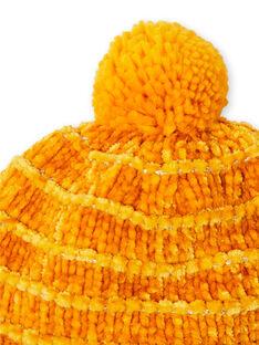 Yellow CAP KYAGOBON / 20WI01L1BON107