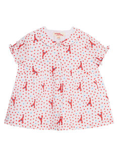 Camisa estampado bebé menina JICEACHEM / 20SG09N1CHE000
