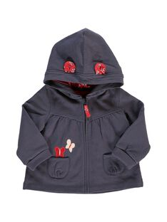Baby girls' hooded sweatshirt CIJOJOH3 / 18SG09R1JGH705