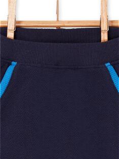 Calças azul-noite bebé menino LUHAPAN1 / 21SG10X1PAN713