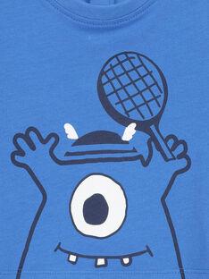 T-shirt de mangas curtas bebé menino FUJOTI4 / 19SG1034TMC201