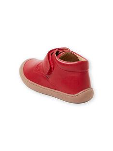 Botins vermelhos bebé menino GBGBOTIFLER / 19WK38I3D0F050