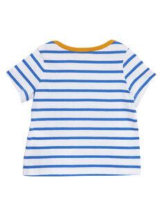 T-shirt Mangas Curtas Azul JUJOTI2 / 20SG10T2TMCC201