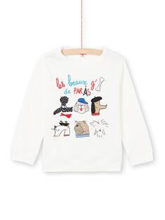 T-shirt branca menino MOMIXTEE2 / 21W902J3TML810