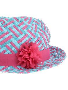 Girls' hat CYADOUHAT1 / 18SI01J1CHA099
