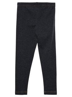 Leggings menina cinzento escuro JYAESLEG3 / 20SI0161D26944