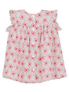 Vestido smocks bebé menina FICAROB5 / 19SG09D5ROB000