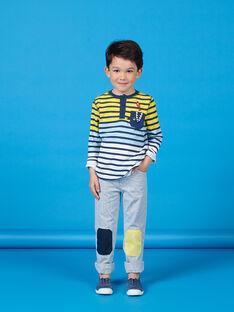 Calças às riscas criança menino LONAUPAN / 21S902P1PAN070