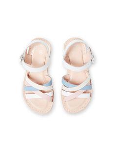 Sandálias brancas menina LFSANDCLAIRE / 21KK355KD0E000