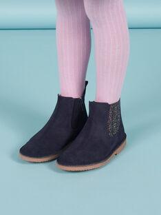Boots azul-marinho menina MABOOTMAR / 21XK3574D0D070
