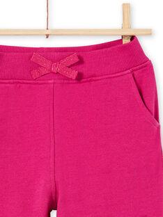 Calças de fato de treino rosa menina MAJOBAJOG4EX / 21W90117JGBD312
