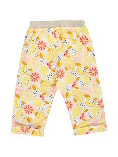 Baby girls' printed trousers CIPIPAN / 18SG09I1PAN099