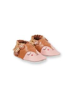Pantufas laranja e rosa bebé menina KNFBICHE / 20XK3714D3S400