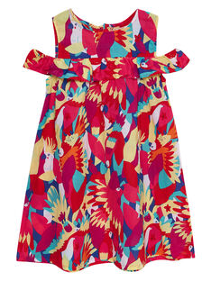 Vestido sem mangas estampado papagaio JAMAROB1 / 20S901P2ROB000