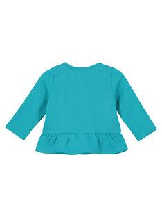 Casaco de algodão bordados bebé menina FITUCAR2 / 19SG09F2CAR202