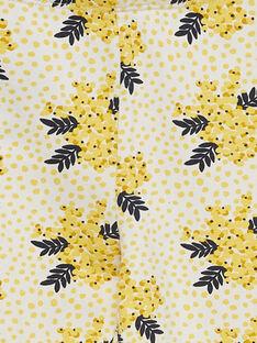 Leggings amarelo com padrão JYASOLEG2 / 20SI0181CAL001