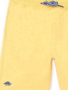 Bermudas amarelo menino LOJOBER4 / 21S902F8BERB116