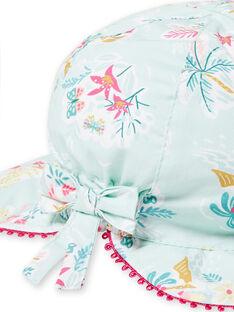 Chapéu azul bebé menina LYIVERCHA / 21SI09Q1CHAG622