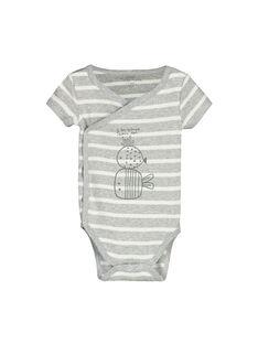 Body de mangas curtas bebé unissexo FOU1BOD6 / 19SF7716BOD099