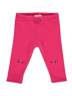 Baby girls' fleece leggings DIJOPAN3 / 18WG0933PAN310
