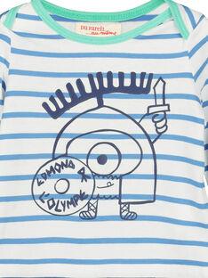 T-shirt riscas bebé menino FUNETEE2 / 19SG10B2TML099