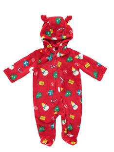 Sobrepijama com capuz de Nastal em soft boa recém-nascido, criança e adulto GEMISURNO / 19WH12T1D4SF505