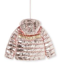 Blusão com capuz tricolor metalizado LAROSDOUNE / 21S901R2D3EK007
