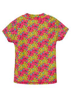 T-shirt anti-uv Vermelho JYAMERUV / 20SI01K1TUVF510