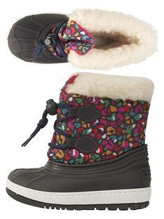Botas de ski multicor leopardo bebé menina GBFMONTNEA / 19WK37W1D3N070