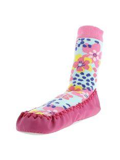 Girls' slipper socks CFCCFLEUR / 18SK35X1D08030