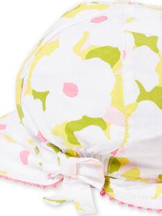 Chapéu florido bebé menina LYIBALCHA2 / 21SI09O1CHA000