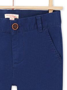 Calças azul-marinho menino MOESPACHI1 / 21W902E2PAN070