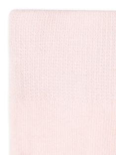 Collants rosa bebé menina LYIESCOL8 / 21SI0961COLD310