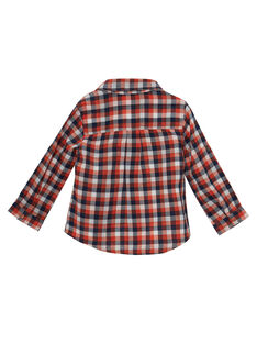 camisa aos quadrados bebé menino JUVICHEM / 20SG10D1CHM001
