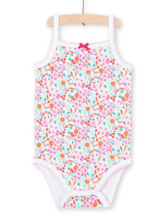 Body branco estampado bebé menina LEFIBODDES / 21SH13G2BDL000